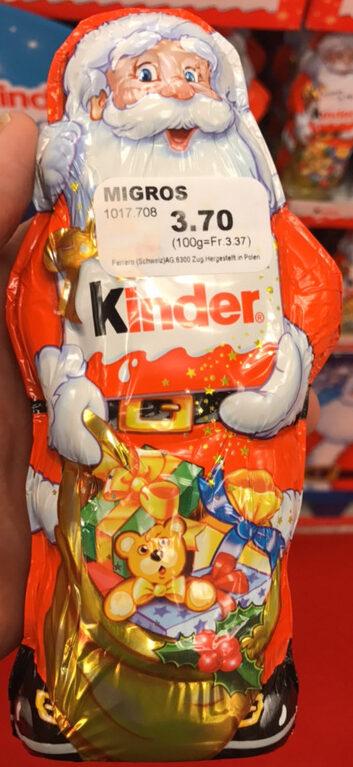 Kinder Weihnachtsmann - Prodotto - de