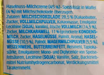 Maxi King - Ingredients