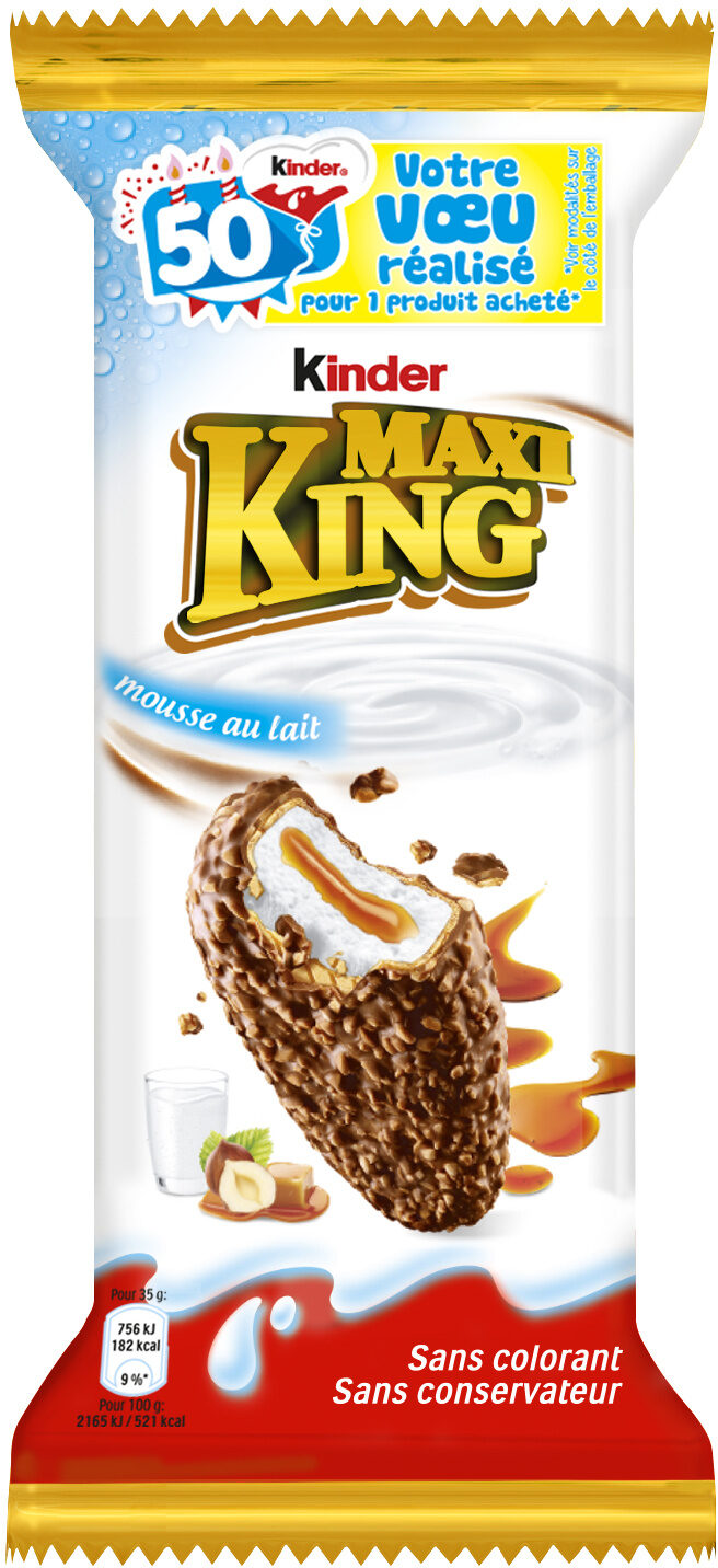 Kinder Maxi King - Produit