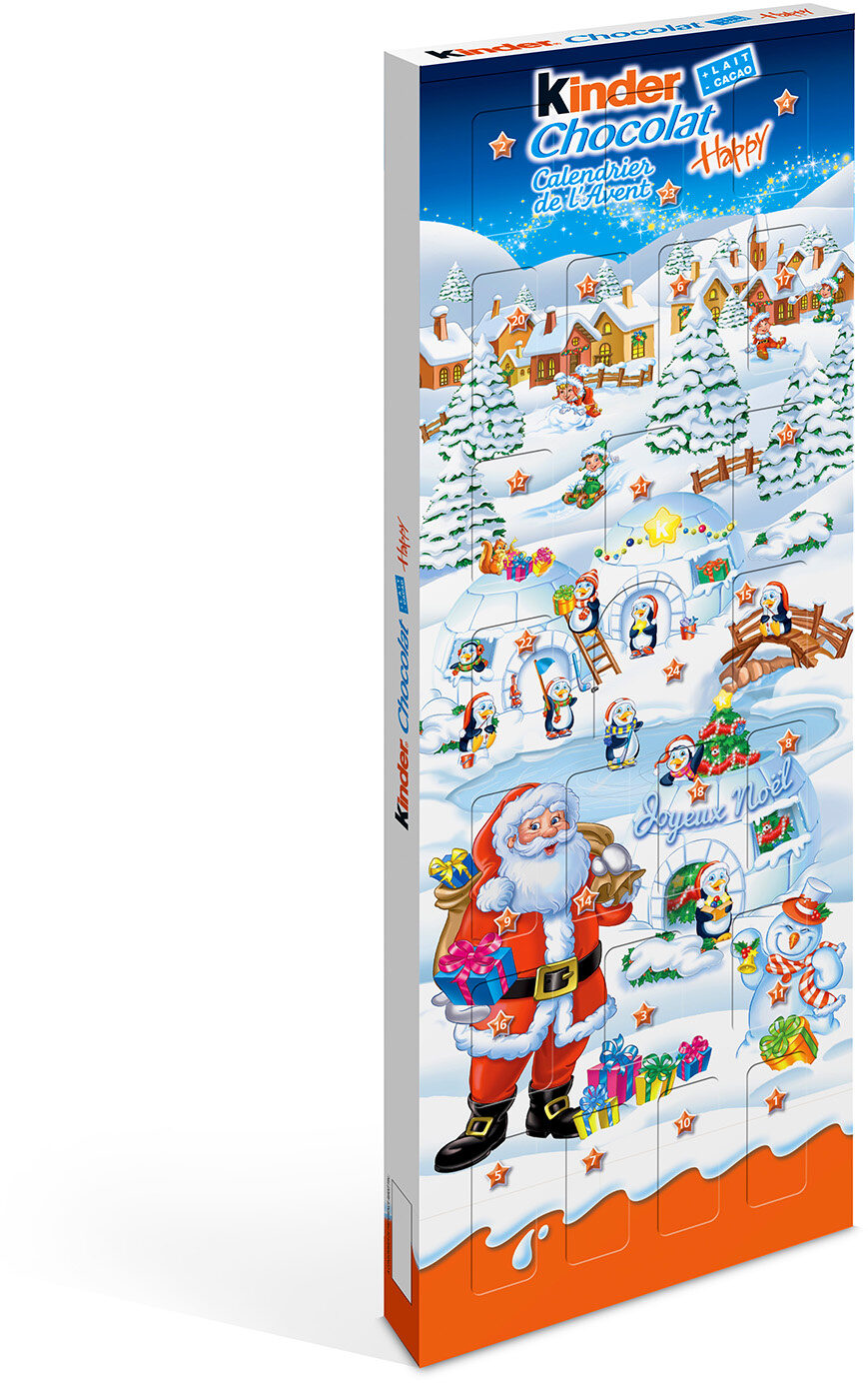 Kinder Calendrier Avent Happy - Product