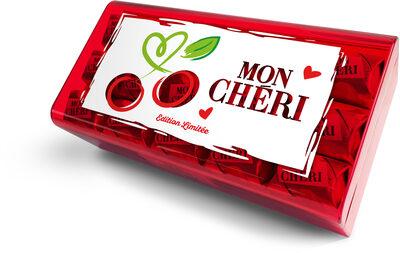 Mon cheri cerise bonbons de chocolat noir fourres cerise et liqueur boite de 30 bouchees - Prodotto - fr