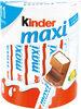 Kinder maxi - Produit