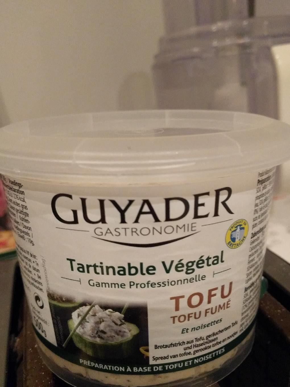 Tofu Fumé et noisettes - tartinable végétal - Product - fr