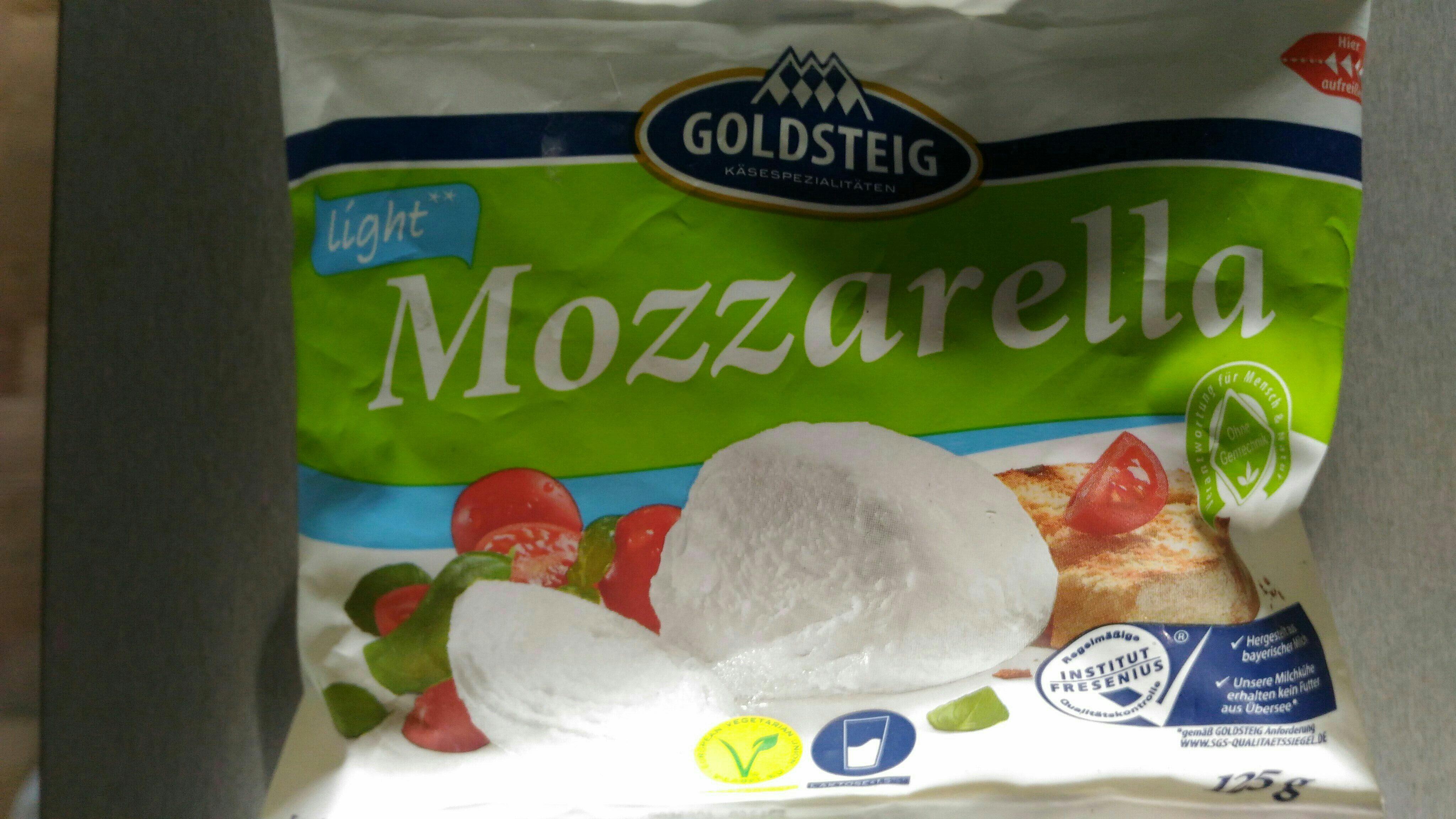 Mozzarella Light - Produit - en