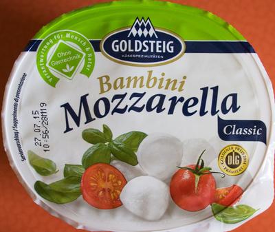 Bambini Mozzarella - Prodotto - de