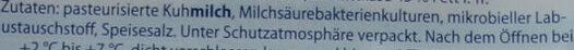 Almdammer käse - Ingredients - de