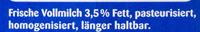 Frische Milch 3.5% - Ingredients - de