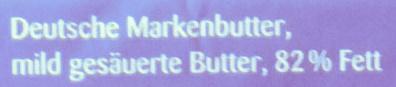 Butter streichzart - Ingredients