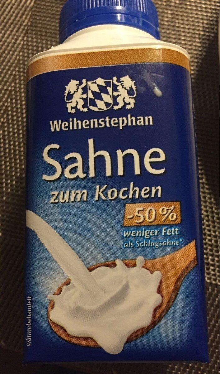 Sahne (weihenstephan) - Nutrition facts - en