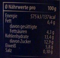 Fruchtquark Himbeere - Nutrition facts - de