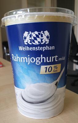 Rahmjoghurt mild 10% Fett - Product
