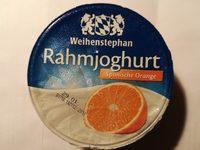 Rahmjoghurt Spanische Orange - Produkt