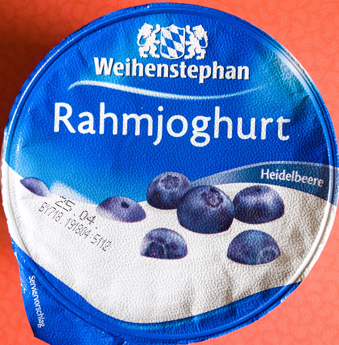 Rahmjoghurt Heidelbeere - Product - de