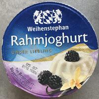 Rahmjoghurt Typ Brombeere-Bayerisch Creme - Product - de