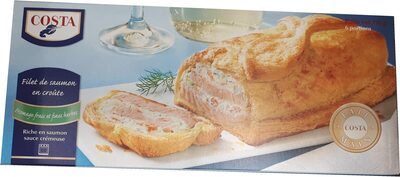 Filet de saumon en croûte - Produit - fr