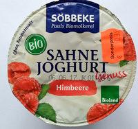 Sahne Joghurt Himbeere - Produkt