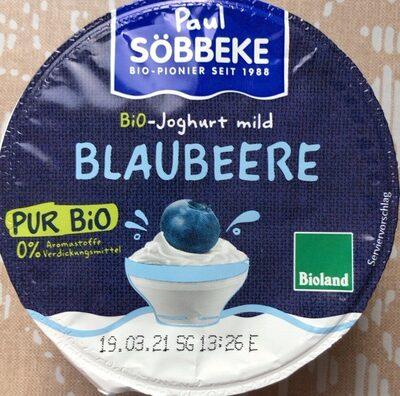 Blaubeere Joghurt - Produkt - de