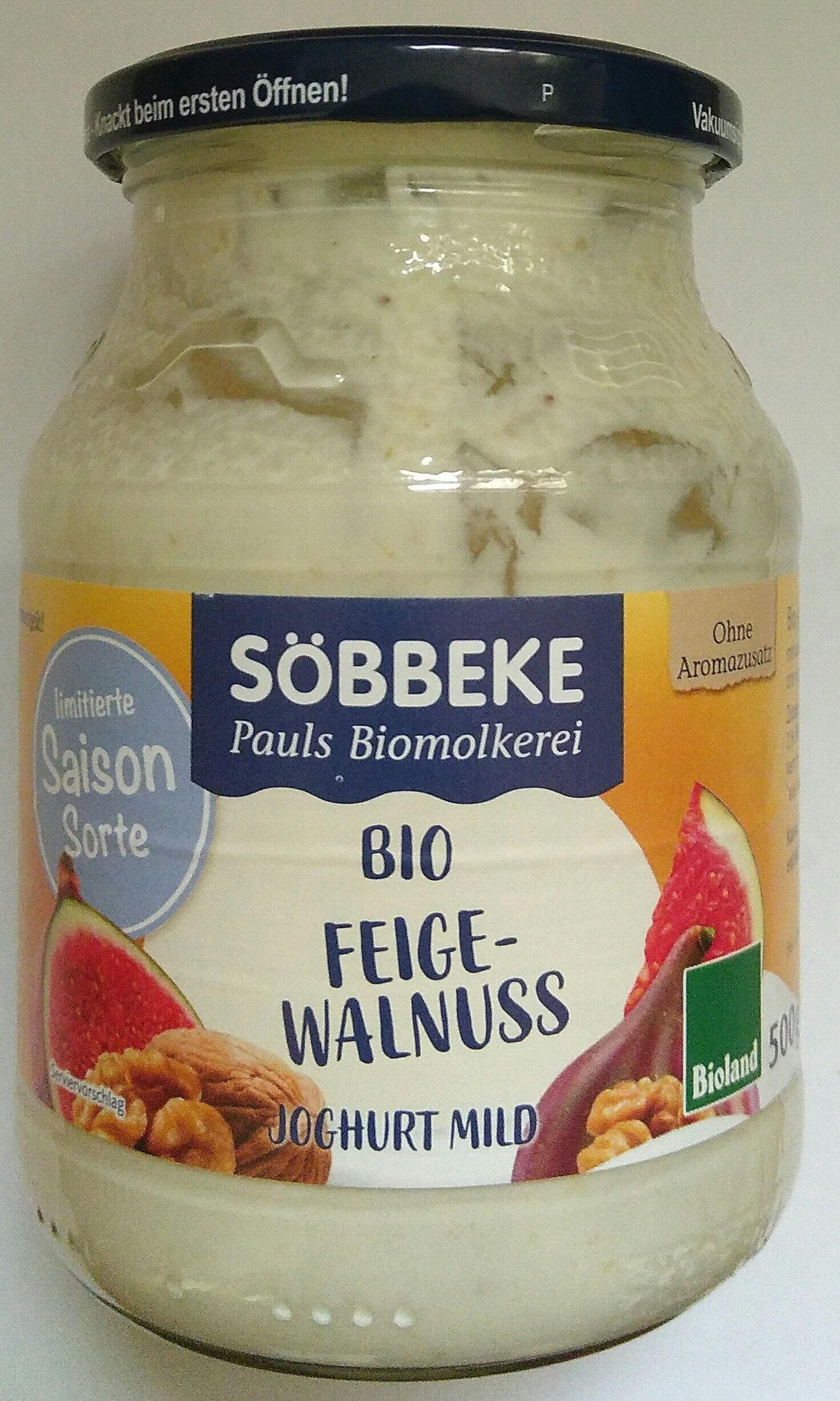 Bio Feige-Walnuss Joghurt mild - Product - de
