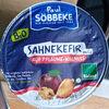 Sahnekefir auf Pflaume-Walnuss - Product