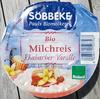 Bio Milchreis Rhabarber-Vanille - Produit