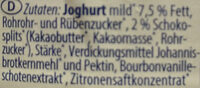 Stracciatella Joghurt mild - Inhaltsstoffe - de