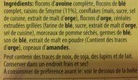Bircher Museli - Ingredients