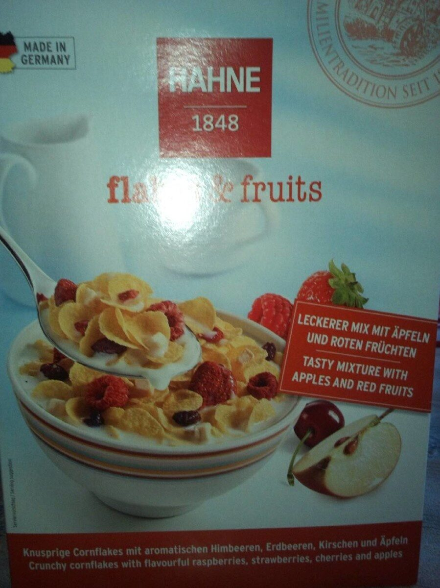 Flakes & fruits - Product