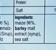 Corn flakes - Ingredients - en