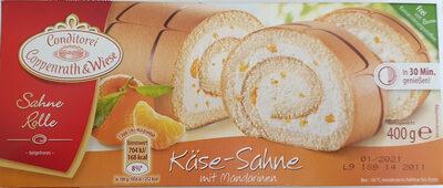Sahne Rolle Käse-Sahne mit Mandarinen - Product - de