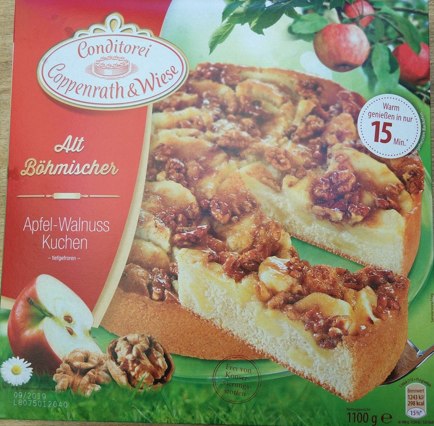 Alt Bohmischer Apfel Walnuss Kuchen Conditorei Coppenrath Wiese
