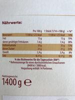 Schwarzwälder Kirsch Torte - Voedingswaarden - de
