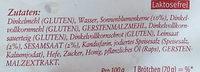Dinkel-Brötchen - Ingredients