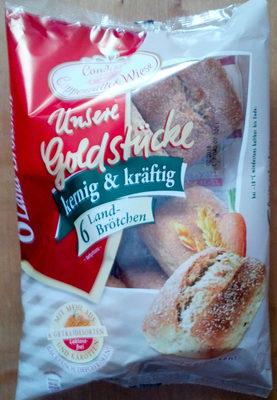 Unsere Goldstücke -  6 Land-Brötchen - Product - de