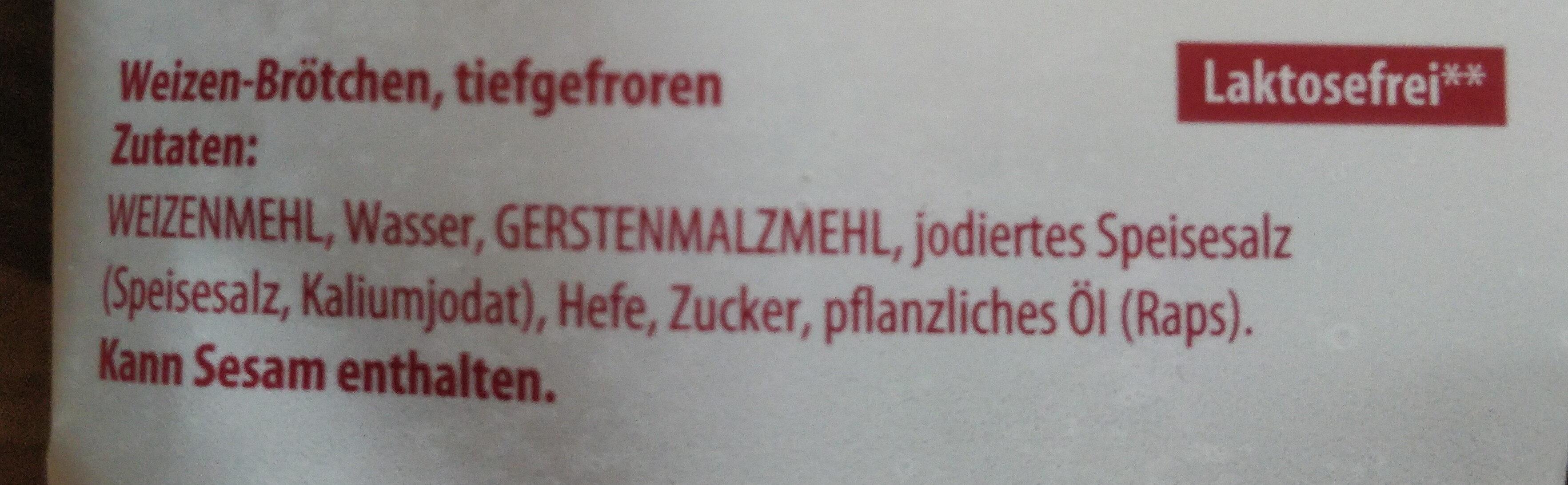 Kaisersemmeln - Ingrédients - de