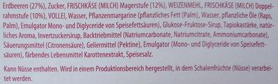 Erdbeerkuchen klein TK - Ingredients - de