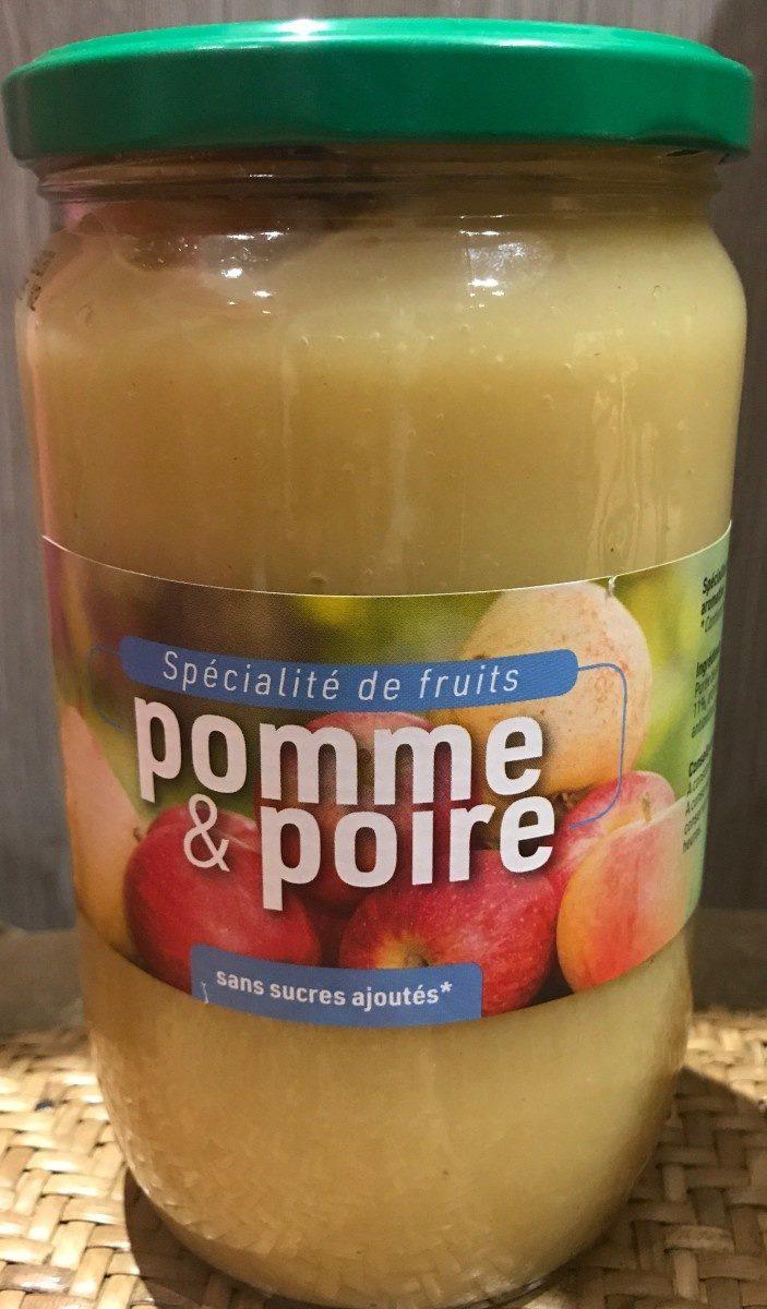 Compote pomme & poire - Produit - fr
