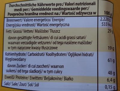 classic Schoko Happen - Informations nutritionnelles - fr