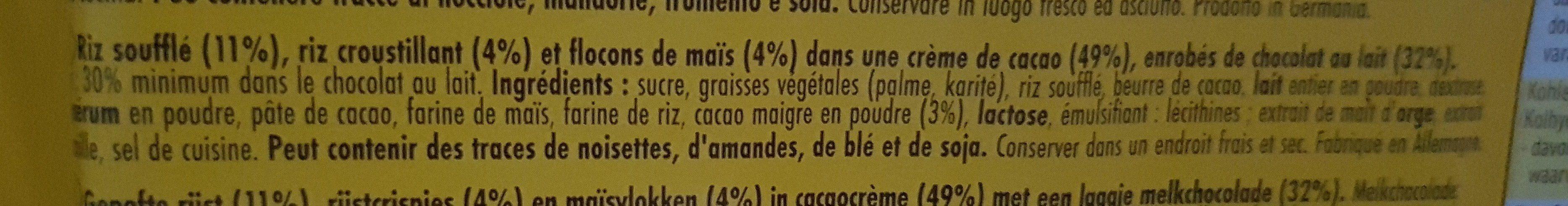 Crunchy happen - Ingredients - fr