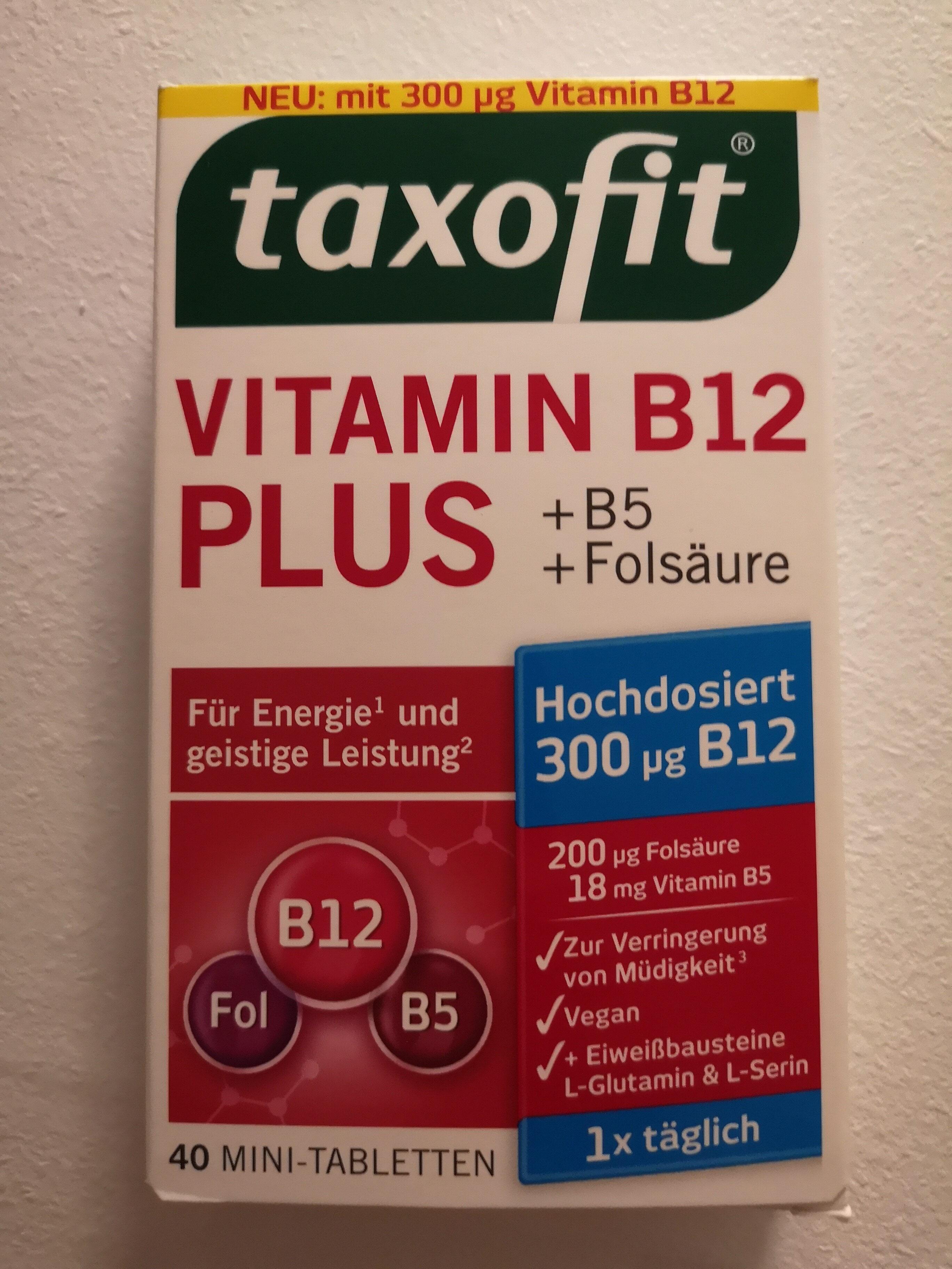 Vitamin B12 Plus +B5 +Folsäure - Producto - de