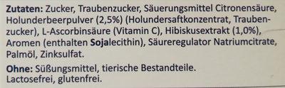 Heißer Holunder - Ingrédients - de