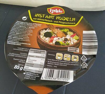 Instant Nudeln, Mit Hühnerfleisch- Und Pilzgeschma. .. - Produit - fr
