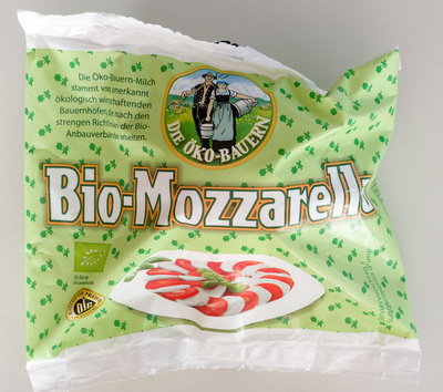 Bio-Mozzarella - Produkt
