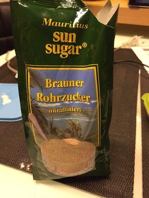 Brauner Rohrzucker - Produit - fr