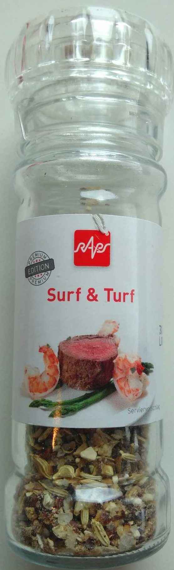 Surf & Turf - Produit