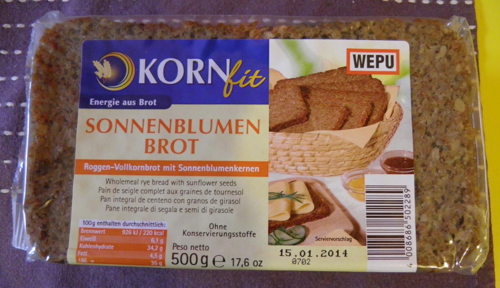 Sonnenblumen Brot - Product - fr