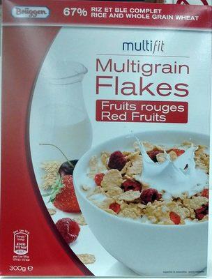 Multifit - Multigrain Flakes Fruits rouges - Product