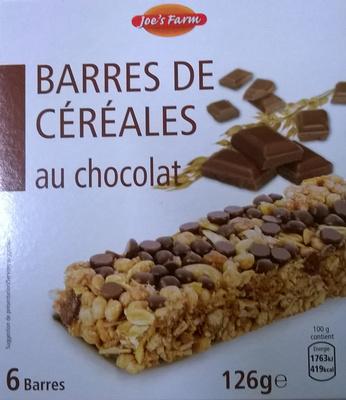 Barres de céréales au chocolat - Product