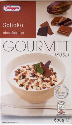 Gourmet Müsli Schoko - Brüggen - 600 g