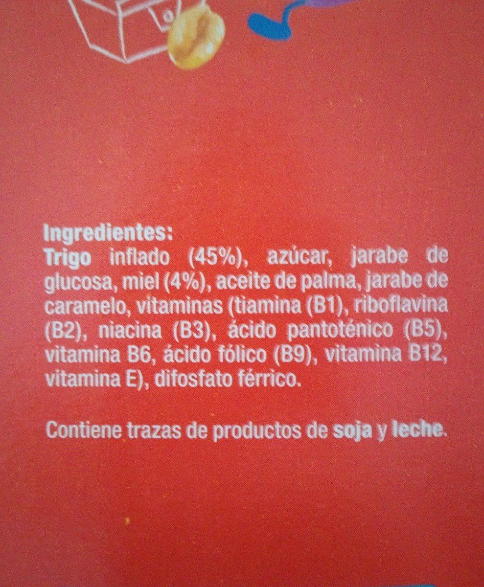 Trigo con miel - Ingredients