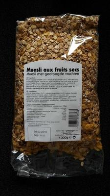 Muesli aux fruits secs - Produit - fr